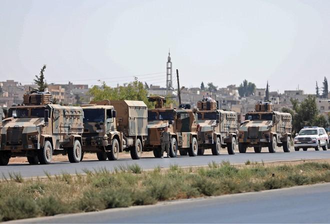 Quân đội Thổ Nhĩ Kỳ chuyển quân áp sát tỉnh Idlib