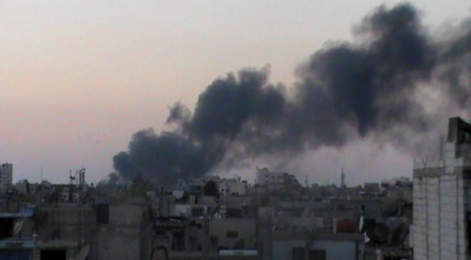 Các cuộc không kích được cho là nhằm vào căn cứ quân sự của Iran trên đất Syria
