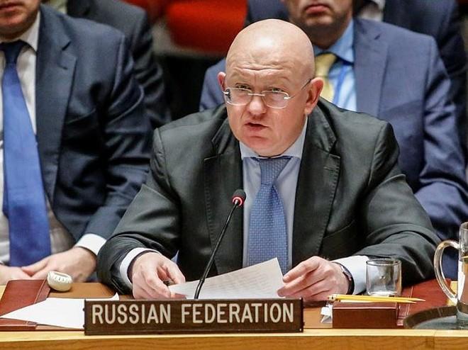 Đại sứ Nga tại Liên Hợp quốc Vasily Nebenzya