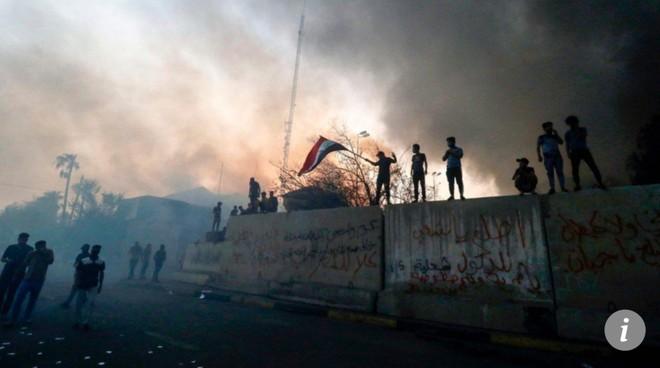 Người biểu tình ở Basra
