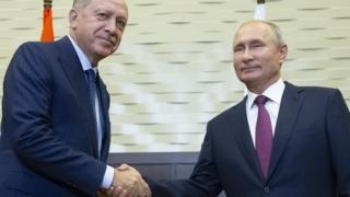 Tổng thống Thổ Nhĩ Kỳ Recep Tayyip Erdogan và Tổng thống Nga Vladimir Putin đưa ra quyết định quan trọng cho Idlib, Syria trong cuộc gặp tại Sochi ngày 17-9