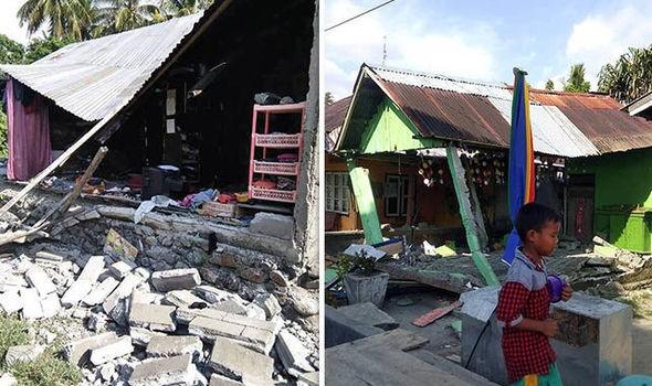 Cảnh tượng hoang tàn ở Palu, Sulawesi, Indonesia