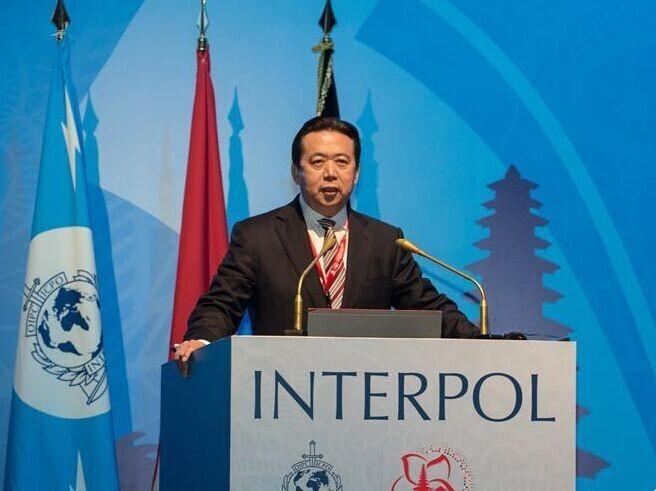 Ông Mạnh Hoành Vĩ, Chủ tịch tổ chức Cảnh sát Hình sự quốc tế (Interpol)