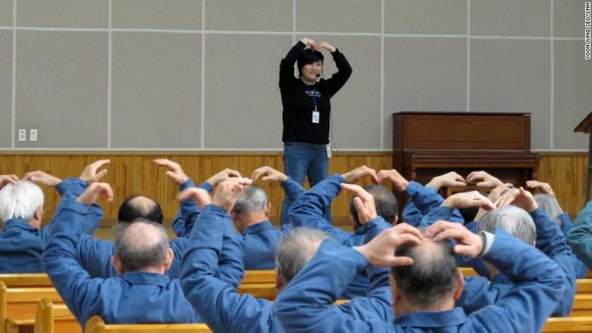 Nhà tù Hàn Quốc phát sợ vì những phạm nhân đầu bạc