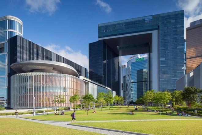 Tòa nhà phức hợp của chính quyền đặc khu Hồng Kông