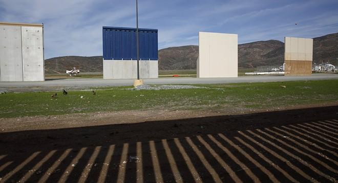 Lầu Năm Góc đồng ý giao 1 tỷ đô la xây dựng bức tường biên giới của Tổng thống Mỹ Donald Trump
