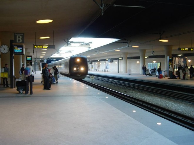 Nhà ga trong sân bay Kastrup