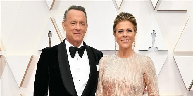 Tom Hanks và Rita Wilson tham dự lễ trao giải Oscar hàng năm lần thứ 92 tại Hollywood vào ngày 9/2.