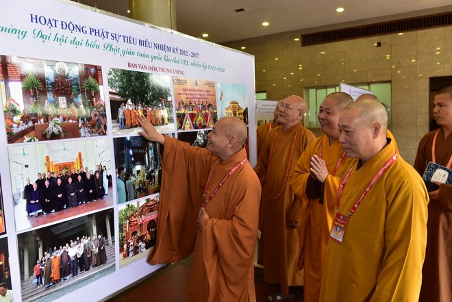 Triển lãm thành tựu phật sự của Giáo hội Phật giáo Việt Nam ảnh 1