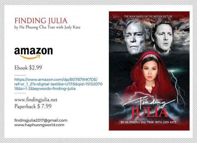 """Ca sĩ tỉ phú Hà Phương phát hành tiểu thuyết """"Finding Julia"""" tại Mỹ ảnh 2"""