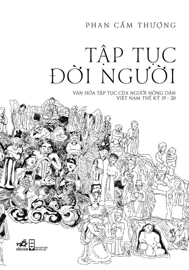 """Cuốn sách """"Tập tục đời người"""" của tác giả Phan Cẩm Thượng"""