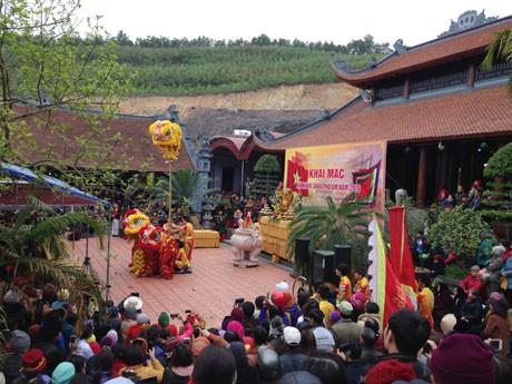 Chùa Phổ Am, TP Uông Bí, tỉnh Quảng Ninh