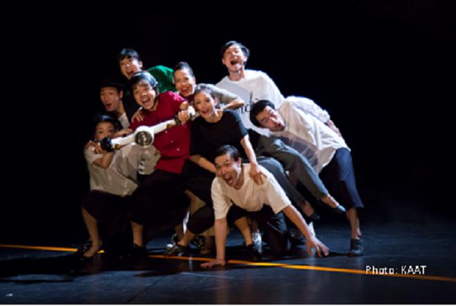 """Vở kịch múa """"Không tín hiệu"""" được ra mắt lần đầu tiên tại Nhà hát Kanagawa (Yokohama, Nhật Bản) vào tháng 9-2017"""