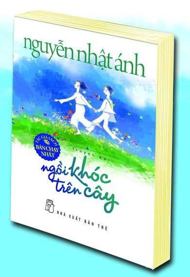 """""""Ngồi khóc trên cây"""" của nhà văn Nguyễn Nhật Ánh đã bán được trên 100.000 bản"""