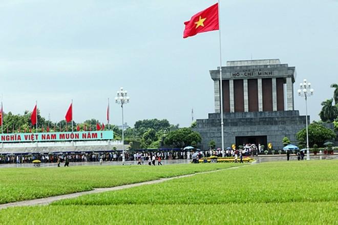 Lễ viếng Lăng Chủ tịch Hồ Chí Minh và lễ tưởng niệm các Anh hùng liệt sĩ sẽ được tiếp tục tổ chức từ ngày 16-8-2018