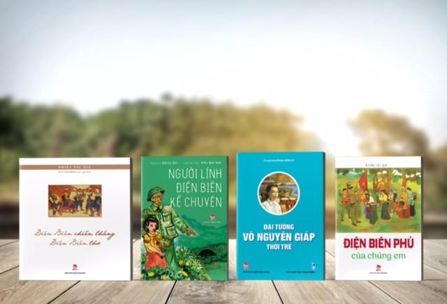 NXB Kim Đồng ra mắt sách mới và tái bản nhiều tựa sách kỷ niệm 65 năm chiến thắng Điện Biên Phủ