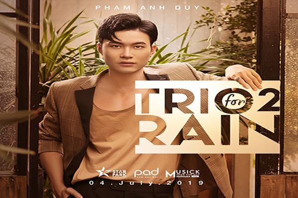 Ca sĩ Phạm Anh Duy trở lại với những ca khúc về mưa