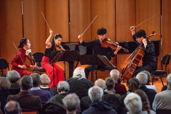 Cuộc thi Âm nhạc quốc tế violin và Hòa tấu thính phòng lần đầu tiên tại Việt Nam