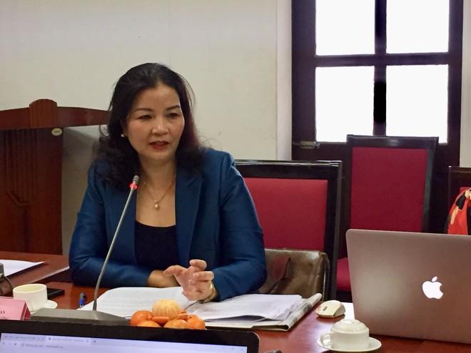 Bà Trần Thị Phương Lan, Phó Giám đốc Sở Công Thương Hà Nội