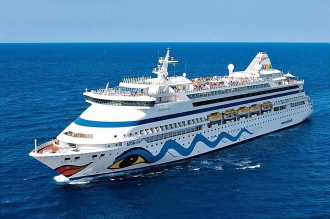 Tàu Aidavita dự kiến cập cảng Cái Lân (Hạ Long, Quảng Ninh) vào ngày 13-2