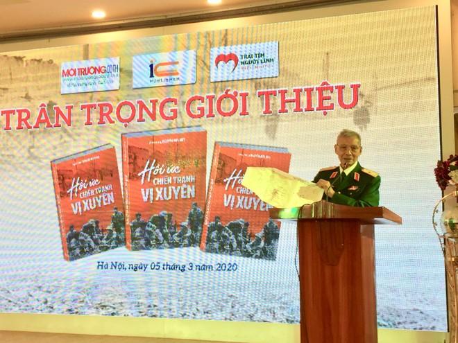 Thiếu tướng Nguyễn Đức Huy xúc động kể lại kỷ niệm về cuộc chiến