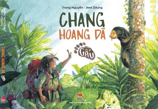 Artbook Chang hoang dã – Gấu: Thông điệp mạnh mẽ về giá trị của thiên nhiên