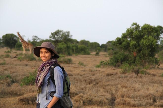 Tác giả Trang Nguyễn dùng lợi nhuận từ cuốn sách phục vụ dự án bảo tồn động vật hoang dã tại Việt Nam