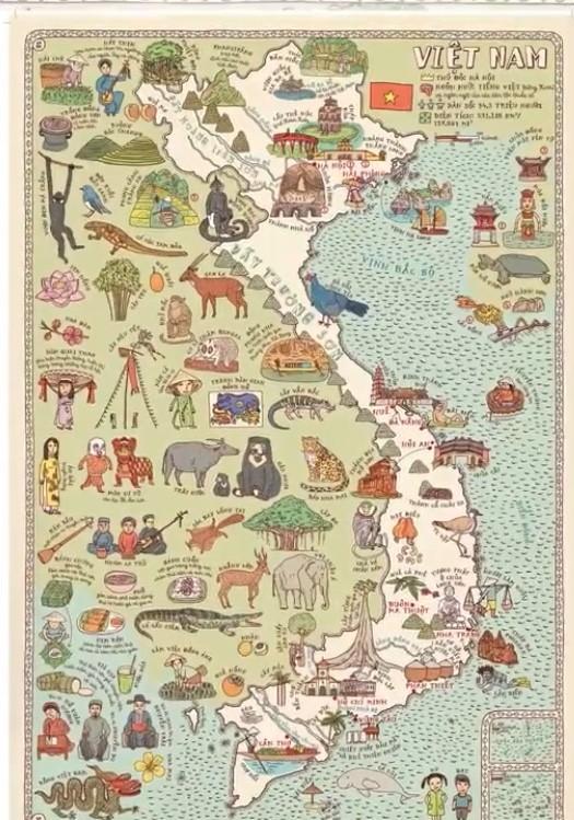 """Chủ quyền Biển Đông và hai quần đảo Hoàng Sa, Trường Sa trên cuốn """"Maps"""""""
