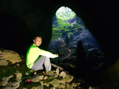 Ông Nguyễn Châu Á với nhiều ý tưởng về quảng bá hang Sơn Đoòng ra thế giới