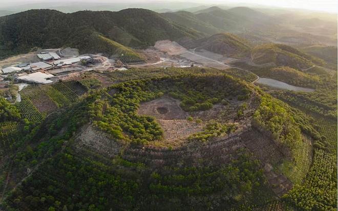 Núi lửa Băng Mo (Ảnh: DAKNONGGEOPARK)