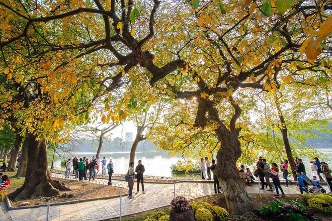 Hà Nội thu hút lượng lớn du khách quốc tế hàng năm (Ảnh: Vntrip)