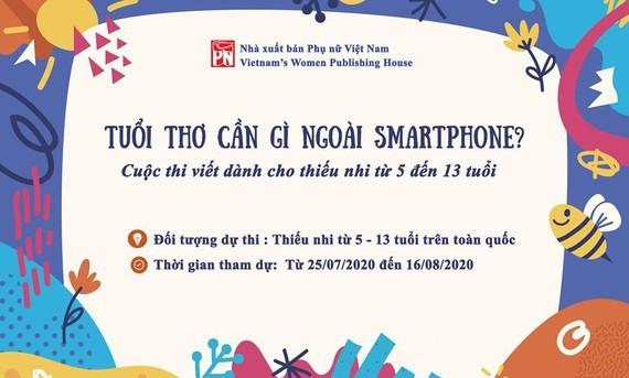Tuổi thơ cần gì ngoài điện thoại thông minh?