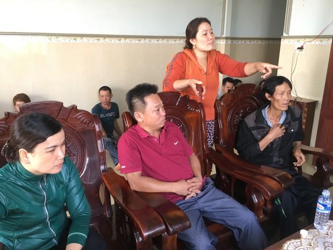Các bị hại đến tố cáo Trần Thị Vân