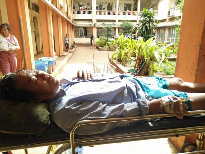 Ông Bình đang điều trị taij bệnh viện đa khoa tỉnh Đắk Lắk