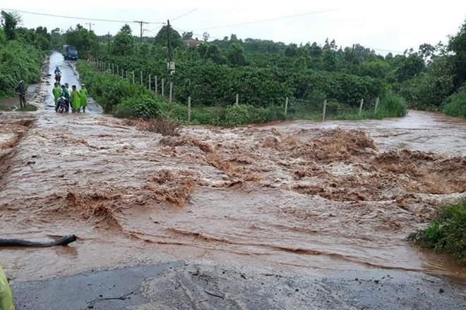 Mưa lớn gây nhiều thiệt hại tại huyện Ia Grai