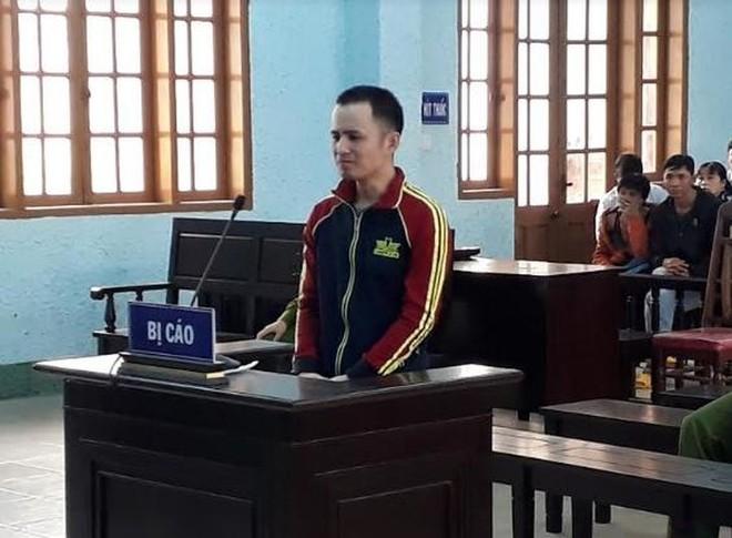 Bị cáo Trí tại phiên tòa xét xử