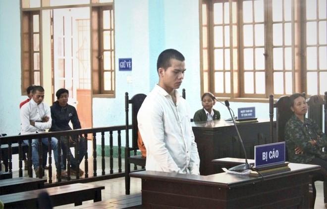Bị cáo Rmah Khun tại phiên tòa xét xử.