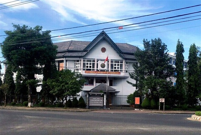 Trụ sở UBND TP Kon Tum