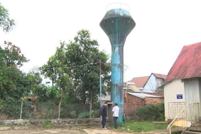 Một công trình cấp nước tập trung tại thị xã Gia Nghĩa, tỉnh Đắk Nông,