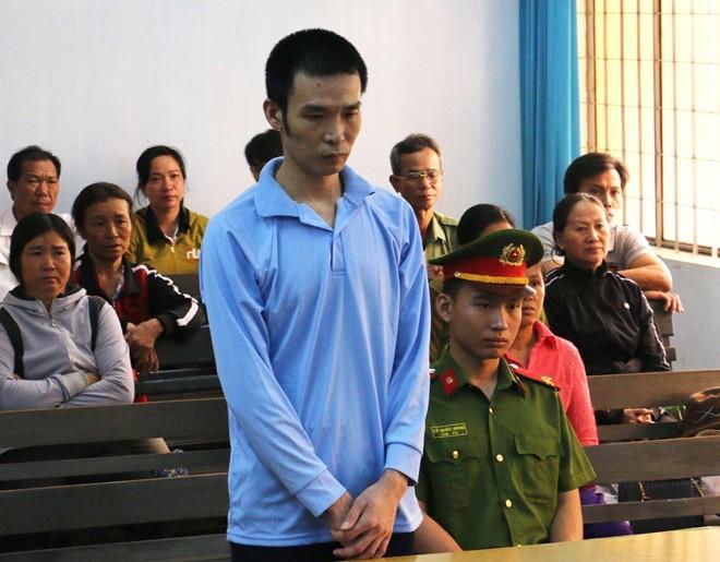 Bị cáo Đại tại phiên tòa xét xử.