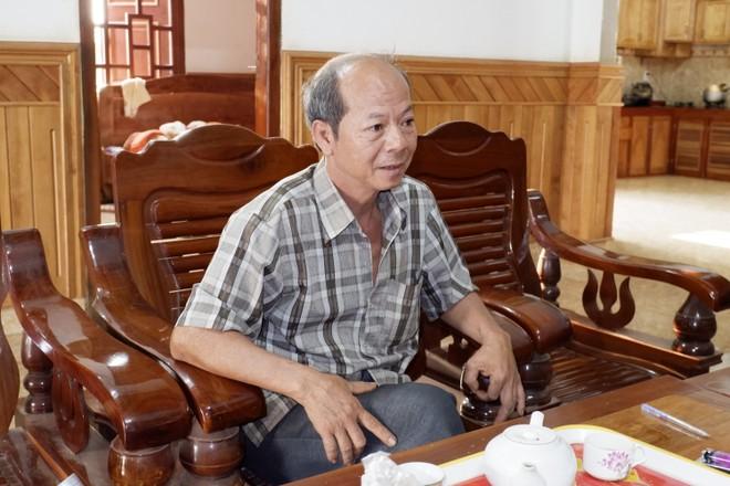 Chủ xưởng gỗ Trần Đức Thịnh.