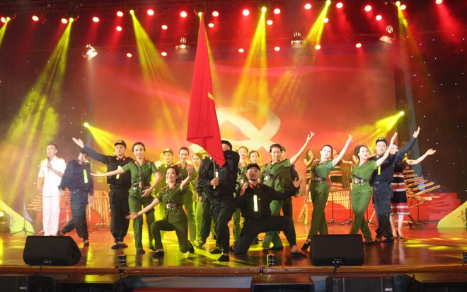 Các tiết mục đặc sắc ấn tượng, đặc sắc của đoàn nghệ thuật quần chúng Công an tỉnh Đắk Lắk