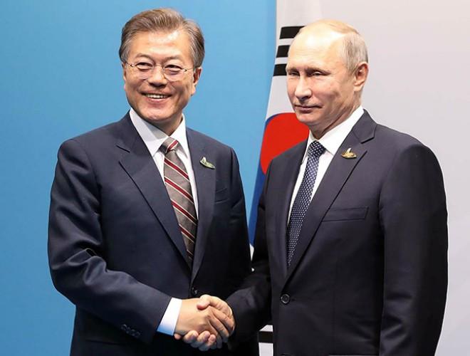 Tổng thống Hàn Quốc Moon Jae-in chuẩn bị thăm chính thức Nga ảnh 1
