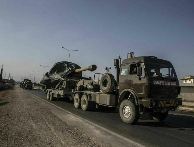 Thổ Nhĩ Kỳ gửi tiếp viện gây sức ép cho SAA trên mặt trận tỉnh Idlib ảnh 1