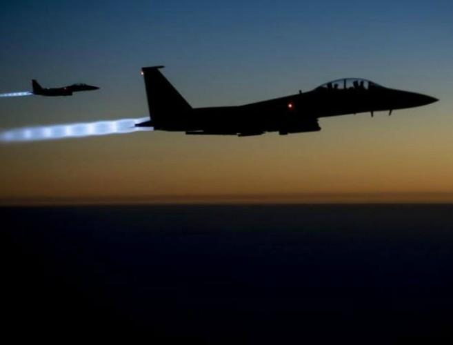 Liên minh Hoa Kỳ tấn công pháo đài IS cuối cùng Baghouz miền đông Euphrates ảnh 1