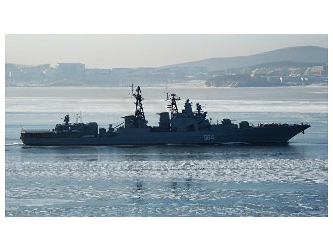 Hải quân Nga tiến hành tập trận trên vùng biển Syria ảnh 1
