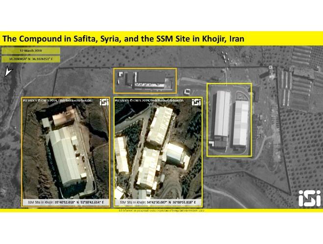 Cơ sở sản xuất tên lửa Iran phía tây Syria xuất hiện trên hình ảnh vệ tinh ảnh 3