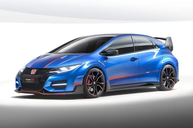 Honda Civic Type R mới sẽ khác biệt hoàn toàn so với các phiên bản cũ