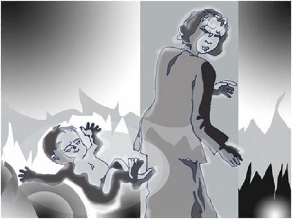 Kinh hoàng mẹ để hai con sơ sinh chết tại nhà ảnh 1
