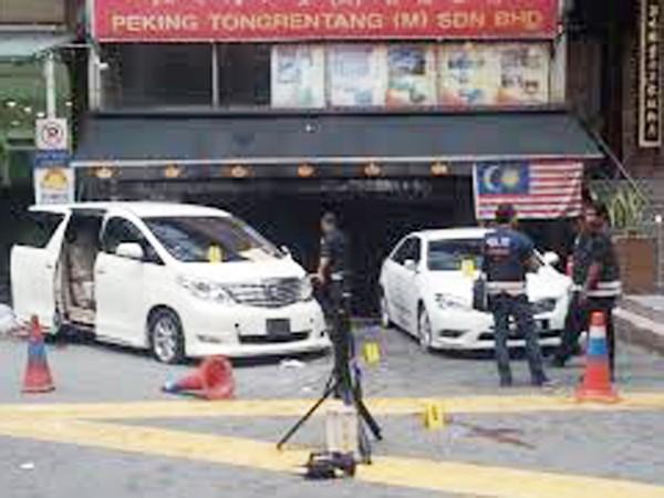 Bom tự chế nổ giữa Kuala Lumpur ảnh 1